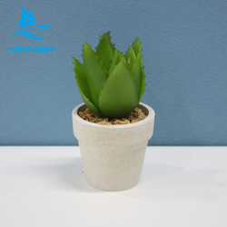 Paper Pulp Planter Decorative Artificial Mini Succulent Plants