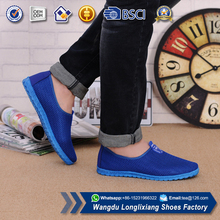 Fancy flat shoes 2017 fall men casual mesh running shoes