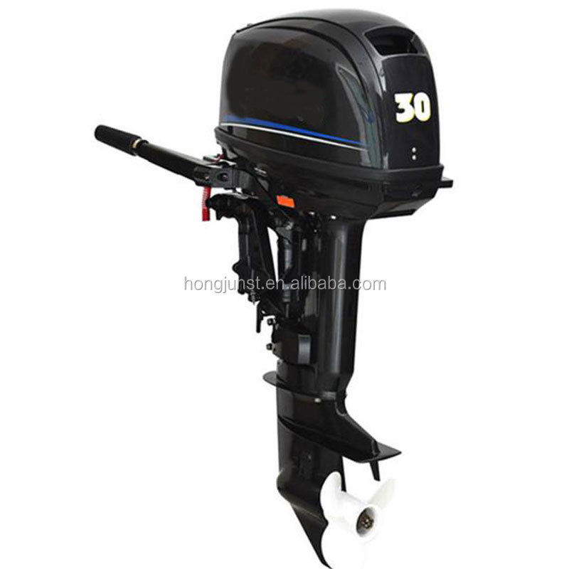 2 Stroke 30HP Electric Start Outboard Motor With Turbochanger