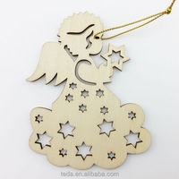 Angel Herald Ornament - Wood Christmas Ornament
