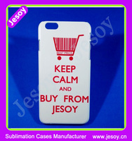 JESOY High Quality 3D Sublimation Cases Blank Cell Phone Case for iPhone 4s