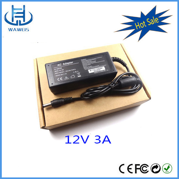 OEM 36W universal adapter 12v 3a ac/dc power supply for laptop computer