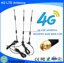 9dB 700-2600Mhz 4g lte strong magnetic base antenna Hot selling 698-2700mhz lte 4g omni antenna