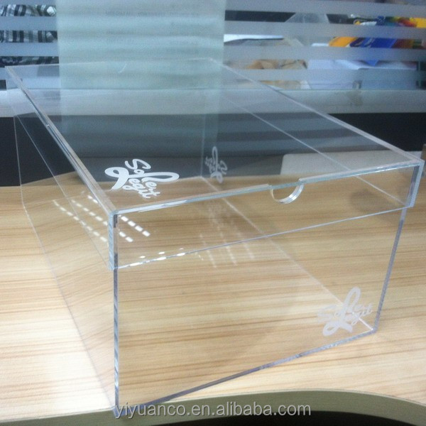 wholesale cheap clear acrylic shoe sneaker box buy acrylic shoe box acrylic sneaker box clear. Black Bedroom Furniture Sets. Home Design Ideas