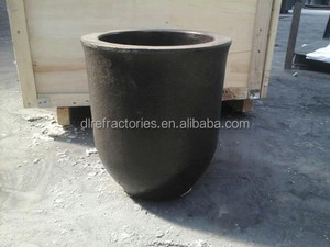 Perfect oxidating resistance SiC Graphite Crucibles for melting brass