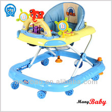 2015 Hot sale cheapest plastic toy/ baby favoriate swing/rocking Baby Walker with round wheels
