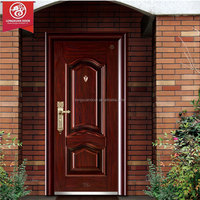 Single Swing Steel Metal Smoke Rated Door, Extrance Fire-proof Doors