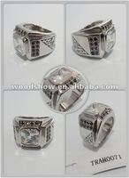 Men's Semi Mount Rings Biker Rings Engagement Rings