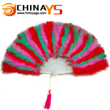 BSCI YS4003 burlesque feather fans Wholesale Cheap Fluffy for sale on promotion
