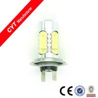 High quality Car Motorcycle 8W 12V White light H7 COB LED for Headlight Fog light