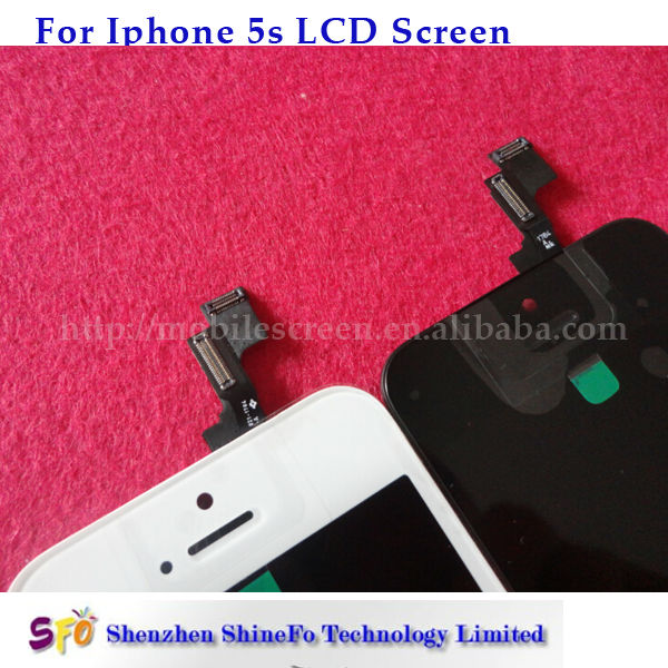 for iphone 5s complete lcd with digitizer assembly
