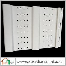 vinyl soffit PVC vinyl cladding wall panel accessory soffit for roofing