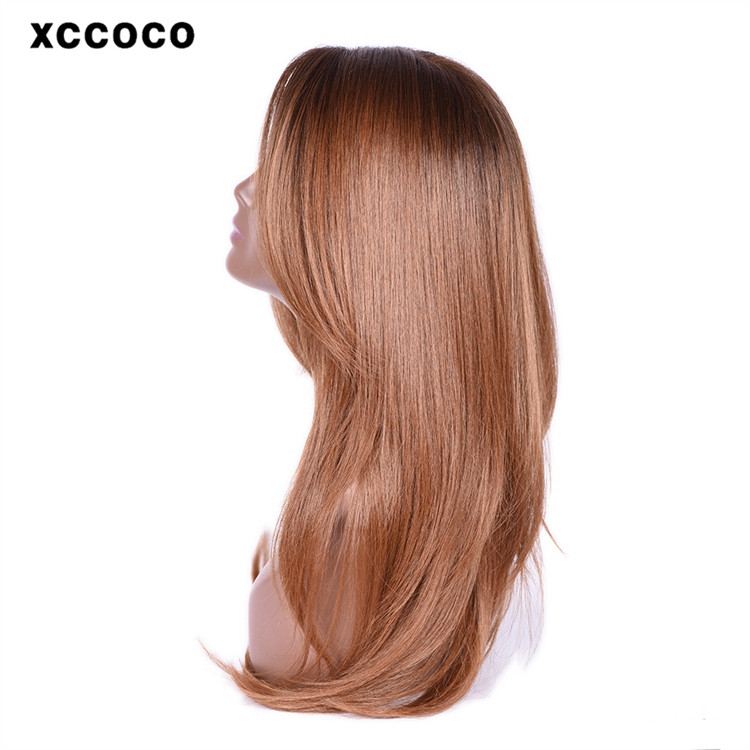 XC CO CO Brand 2016 fashion blue wigs hair OEM factory wholesale 100% polyester synthetic party wig