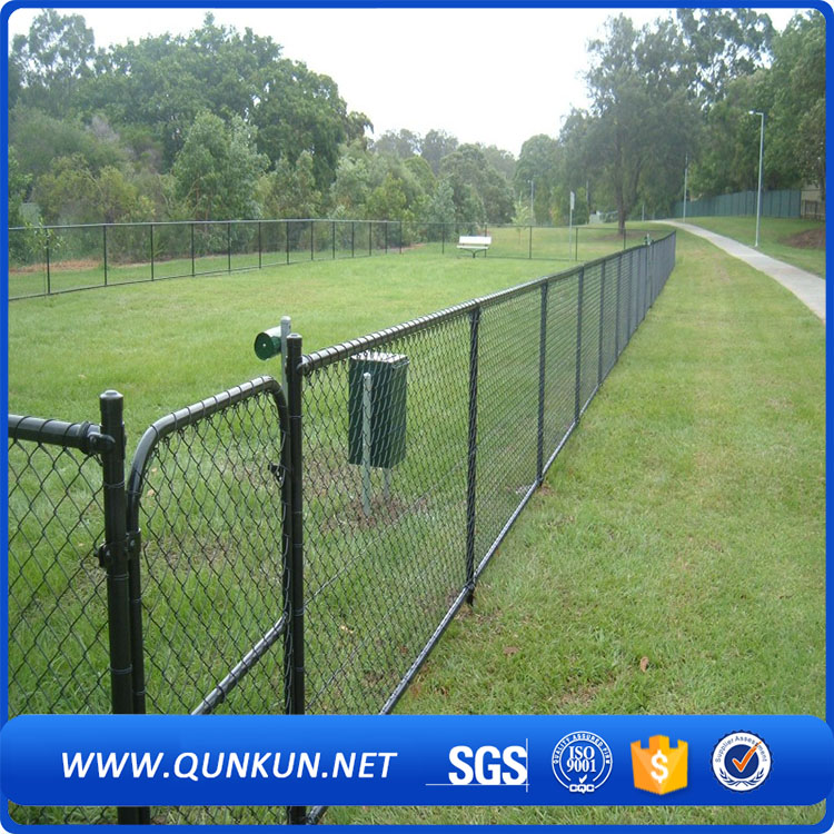 High quality manufacture industrial safety fence chain link fence
