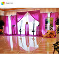 ice silk pipe and drape wedding backdrop drape