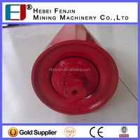 water-proof and dust-proofBelt Conveyor Carrier Idler Roller for mining crushing plant