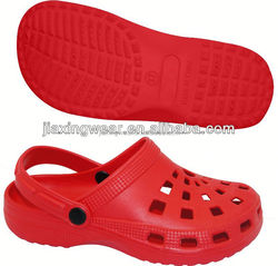 Injection men pu leather sole flip flops for beach and promotion,light and comforatable