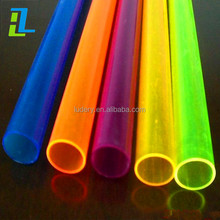 Transparent hollow extrusion large diameter round and square acrylic tube, PVC pipe PC tube
