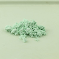 Finely ground glass Mint green glass opal frits 0.2mm glass powder