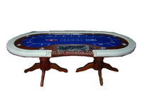Texas wood poker table for casino Luxury Game poker