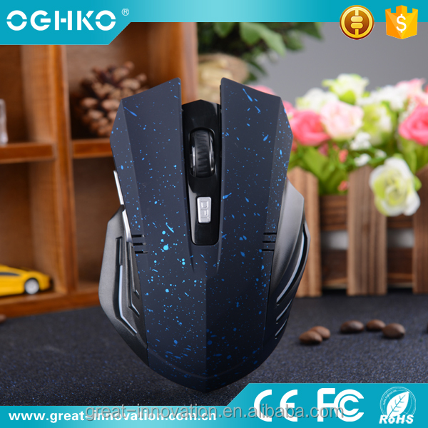2016 new item 2.4g wireless mechanical gaming computer mouse