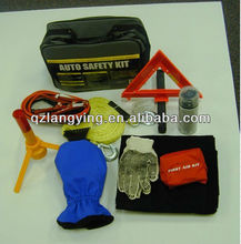 24 pcs Roadside Safety Kit with flashlight