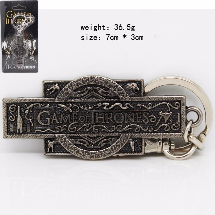 New Design Song of Ice And Fire Game of Throne Keychain Hand Of The King Beer Bottle Opener Keyring Without Chain