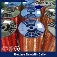 UL Approved CCA Magnet Wire Cu Al Enameled Wire for Transformer Windings