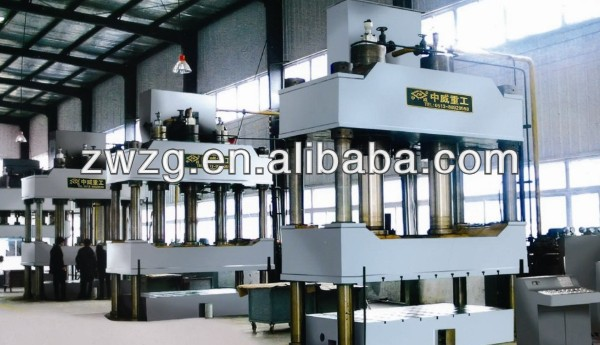 500 tons Four Column hand/foot operated hydraulic press with TUV ISO certification and competitive price