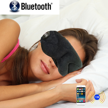 Sleep Mask Headphone with wireless bluetooth work with any bluetooth- enabled device