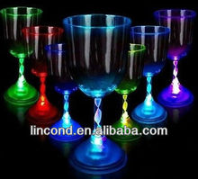 Flashing champagne cup wholesale, Plastic champagne cup,led champagne cup