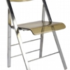 Starway Acrylic Dining Plastic Leisure Chair