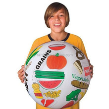 18inches inflatable world map ball plastic ball