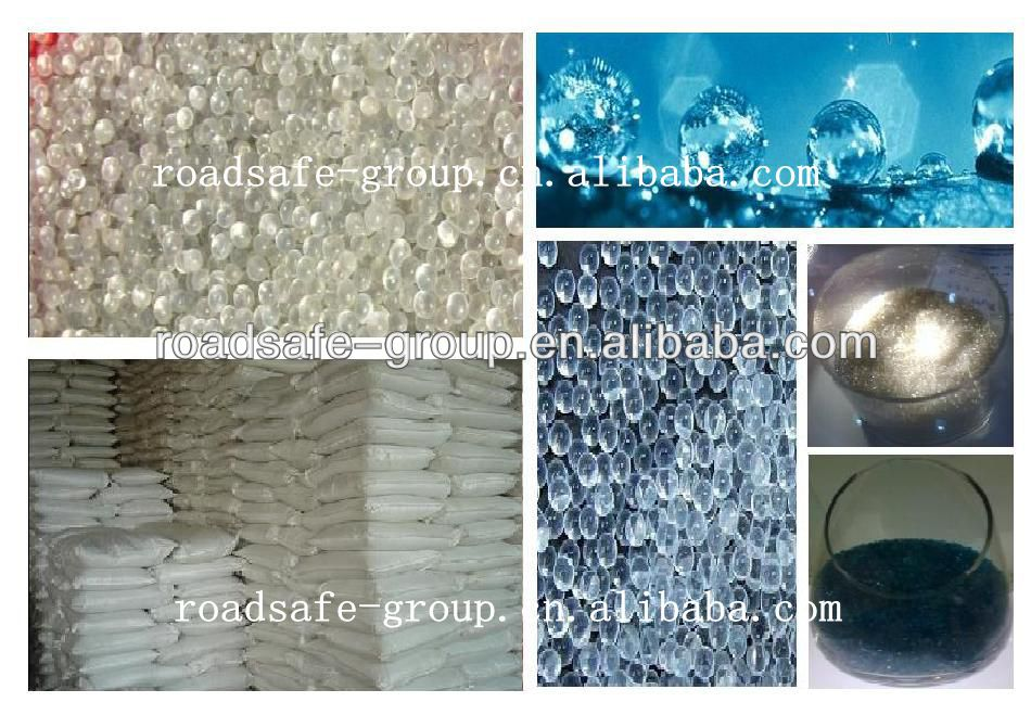 Glass beads traffic paint/reflective traffic paint/ safety equipment