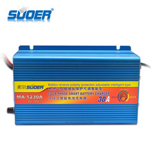 Suoer 12V 30A Home Universal 3-Phase Car Battery Charger