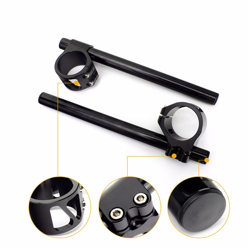 High Strength Light weight CNC aluminum alloy Motorcycle 41mm Handlebars Clip on for ZX10