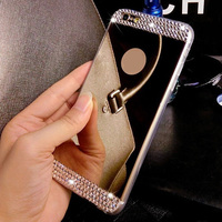 OEM cheap phone case cover for iphone6,mobile phone accessory for iphone mirror case