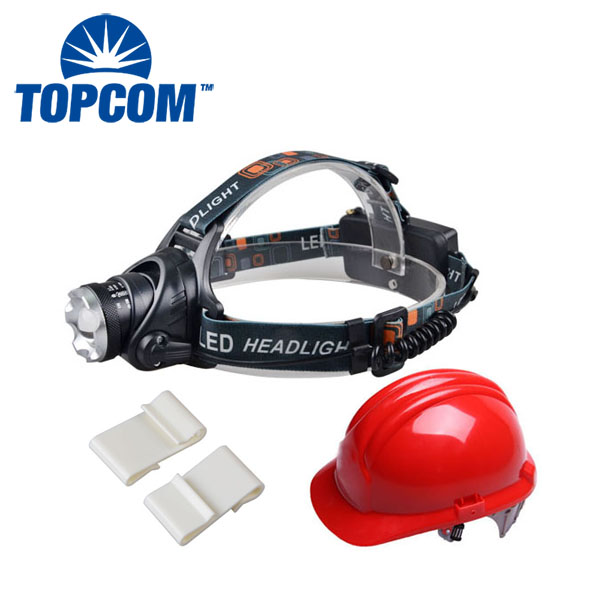 2014 Brightest 2*18650 Battery 6000 Lumen Led Headlamp