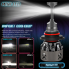 Mini 6 serial 9006 LED Lamp With Super Brightness and Long Life For Car