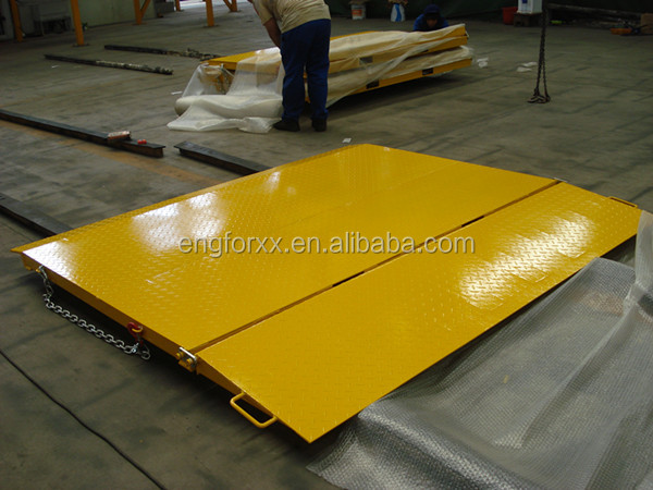 Foldable Container Load Ramp