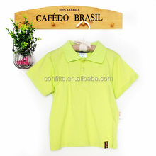 Yellow kids dart shirts carters baby clothes polo shirt