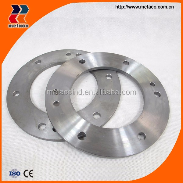 OEM customized CNC machining forged stainless steel flanges