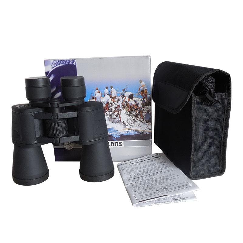 Hot sale fully coated Porro Prism 10X50 PCF Outdoor Binoculars telescope P1050E2