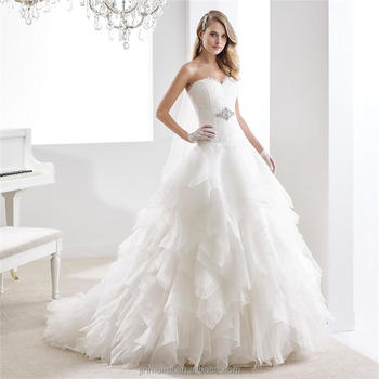 Sweetheart Lace wedding dress bridal gown wedding dress 2016 corset dress