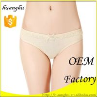 Trendy low rise new products satin underwear models women thongs