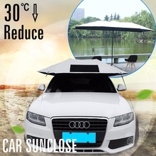 SUNCLOSE folding garage car cover UV protection folding polyester car cover