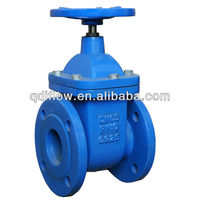 ISO5752 gate valve with brass sealing non-rising stem