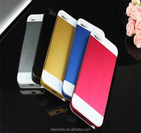 3500mAh power case for iphone5/5s external battery case phone charger colorful ultrathin power case for handsome and beauty