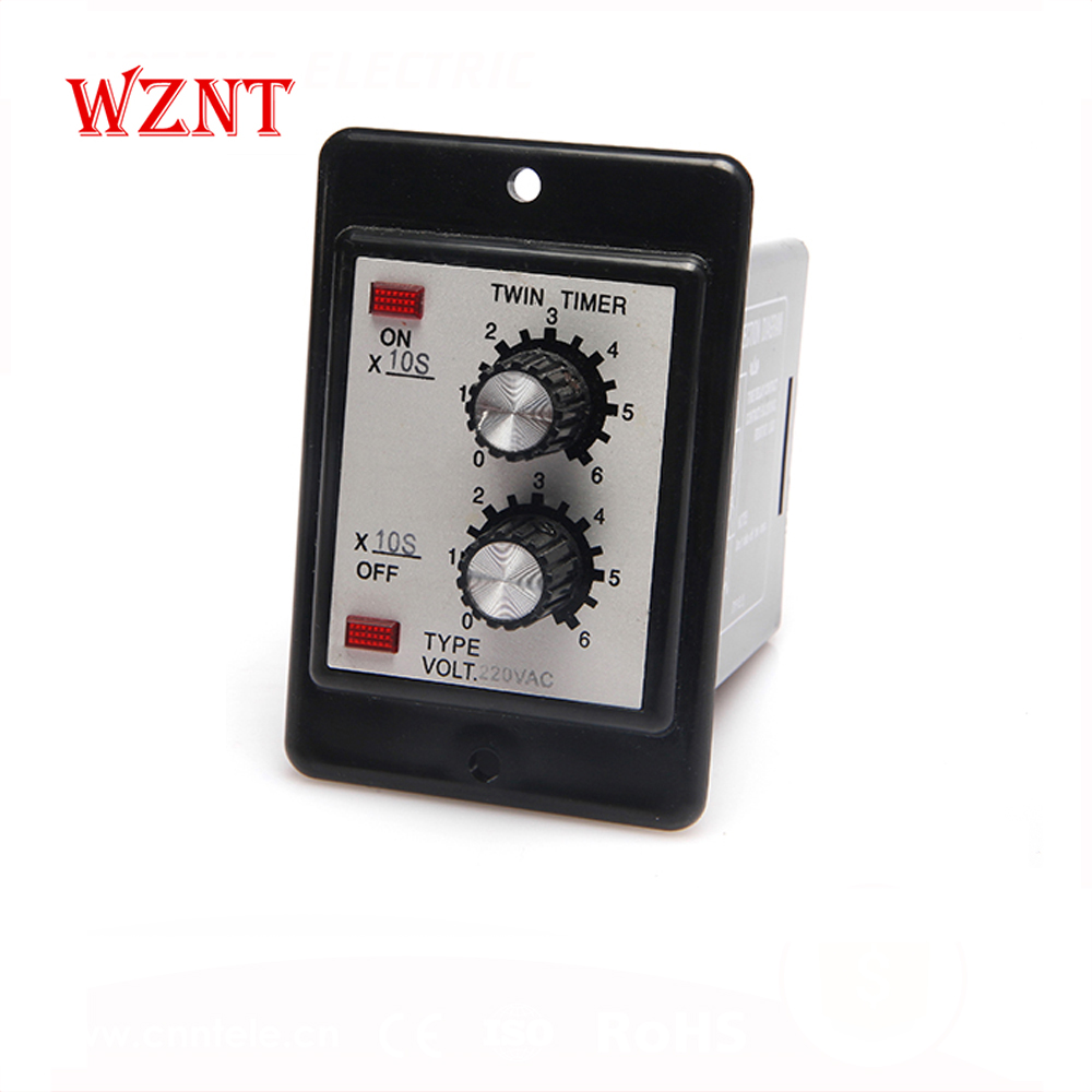 ATDV - Y Twin Timer Relay,Circulation Delay Time Delay Relay,Adjustable Time Relay