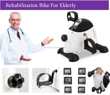 Portable Desk Bike LCD Display Pedal Exercise Rehabilitation Training Bike Legs Arms Stationary Mini Bike For Elders